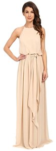 Donna Morgan Gown Bridesmaid Flowy Dress