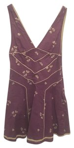 Marc Jacobs short dress Purple V-neck on Tradesy