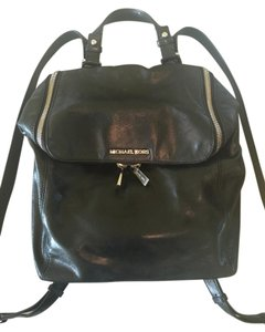 Michael Kors Leather Silver Hardware Soft Backpack