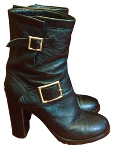 Jimmy Choo Biker Boot Boot Black Boots