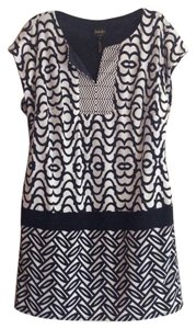 Laundry by Shelli Segal short dress Black/ White on Tradesy