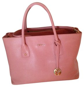 Furla Satchel in Baby Pink