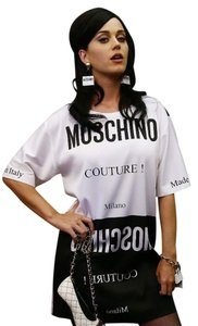 Black and White Maxi Dress by Moschino