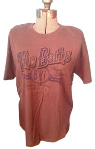 Gildan Virgin The Baths British Gorda Cotton T Shirt