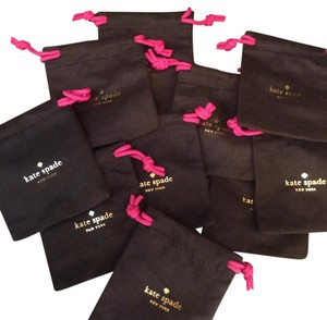 Kate Spade Set of 10 Kate Spade Jewelry Pouches Approx. 4 x 4.25