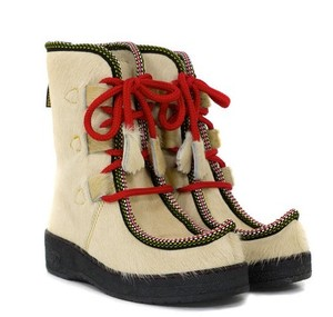 Penelope Chilvers Impossible Cream Boots