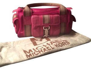 Michael Kors Satchel in Hot Pink
