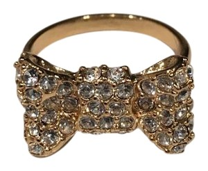 Kate Spade All Wrapped Up Pave Bow Ring