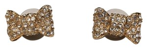 Kate Spade All Wrapped Up Pave Stud Earrings