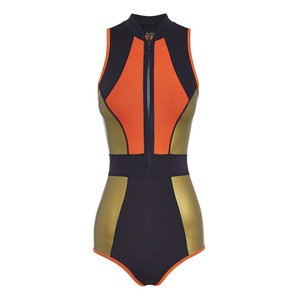 Duskii DUSKII Temptation paneled neoprene swimsuit
