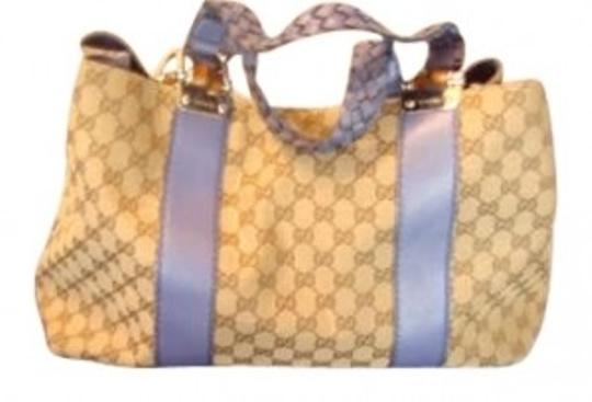 Preload https://img-static.tradesy.com/item/194308/gucci-large-teal-canvas-monogram-with-braided-leather-tote-0-0-540-540.jpg