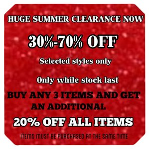 30%-40% OFF SALE AND MUCH MORE!! NOW!