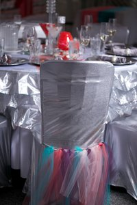 100 Tulle Chair Tutus