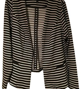 Torrid Black and white Blazer