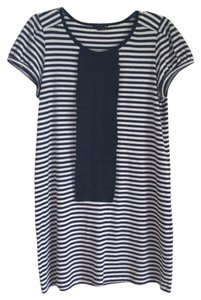 Theory short dress Navy and white on Tradesy