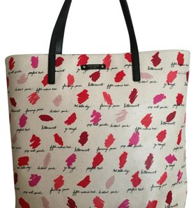 Kate Spade Tote in Lipstick Sand