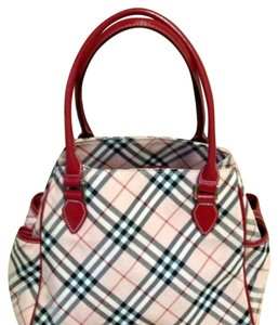 Burberry Blue Label Satchel in Checkered