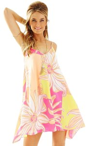 Lilly Pulitzer short dress KIR ROYAL PINK JUST A SPLASH on Tradesy