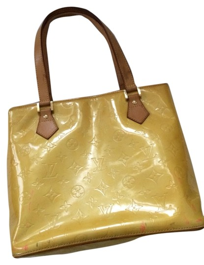Louis Vuitton Tote in Yellow Patent