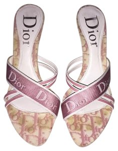 Christian Dior White/Pink Formal