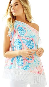 Lilly Pulitzer Top PEWTER PINK