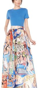 Trisha dominga Alice + Olivia Maxi Skirt Multi