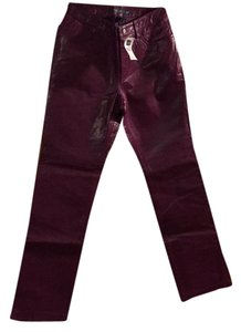 Gap Boot Cut Pants Purple