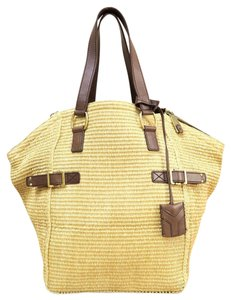 Saint Laurent Downtown Tote in Wheat