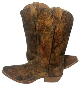 Stetson Cowgirl 7.5 Western Cowboy Cowgirl 7.5 Brown Boots