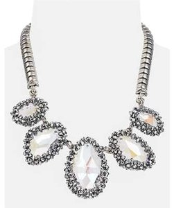 Cra Couture Jewelry Cara Couture Crystal Statement Necklace