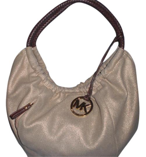 michael kors ring strap with gold mk hobo bag hobos on sale. Black Bedroom Furniture Sets. Home Design Ideas