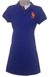 Ralph Lauren Blue Label short dress Blue on Tradesy