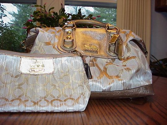 Coach Gold Exclusive Satchel