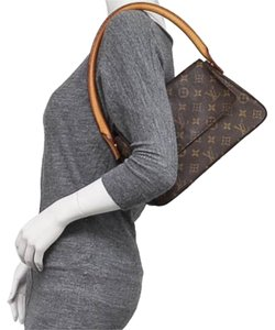 Louis Vuitton Looping Monogram Canvas Leather Shoulder Bag