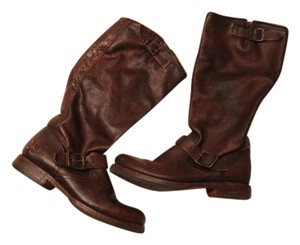 Frye Leather Trendy Comfortable Brown Boots
