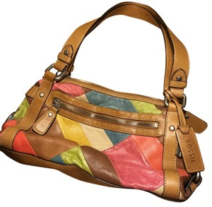 Fossil Satchel in multi-color