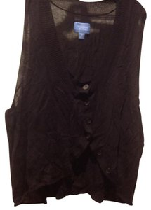Simply Vera Vera Wang Vest In Color Like New Button Front. Sweater