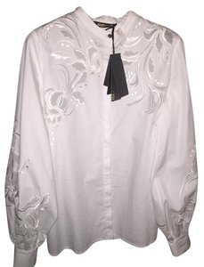 Roberto Cavalli Button Down Shirt White