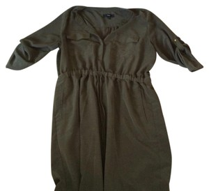 Mossimo Supply Co. short dress Dark green on Tradesy