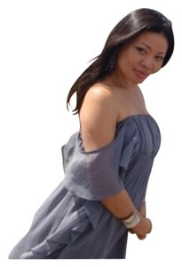 Zara short dress Gray on Tradesy