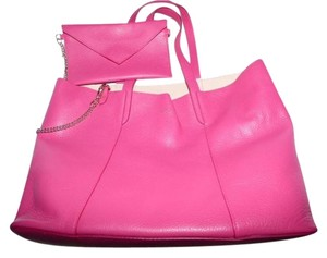 Furla New With Sak's Tags Satchel in bubble gum pink leather