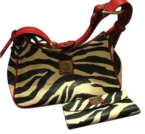Dooney & Bourke And Animal Print D&b Shoulder Bag