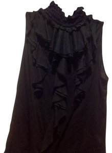 Ralph Lauren Sleeveless Color Like New Top Black