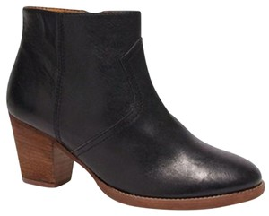 Madewell Ankle Boot Winston Bootie Black Boots