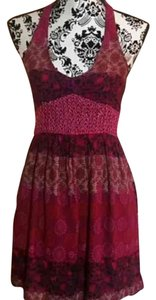 Hollister short dress Pink on Tradesy