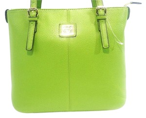 Anne Klein Tote in light green