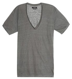 Isabel Marant T Linen T Shirt Grey Ice Blue