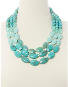 Lane Bryant 3-LAYER BEADED NECKLACE