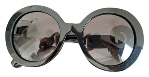Prada Prada Round Baroque Sunglasses 55mm