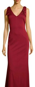 Nicole Miller V-neck Evening Sleeveless Holiday Dress